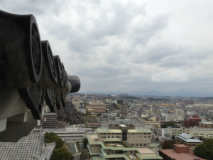 熊本城は築城から400年です。 観光スポットとして魅力的です。