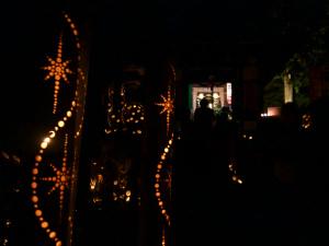 田舎で癒させる光に包まれる キャンドルナイト鞍手in長谷観音
