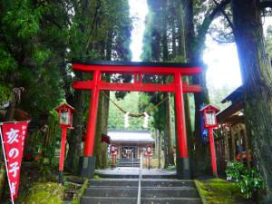 龍馬が訪れた霧島の地! 犬鳴の滝・和気神社 霧島市牧園町