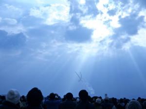 ブルーインパルスの航空ショーは大興奮!!芦屋町航空祭